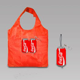 Coca Cola can - foldable shopping bag