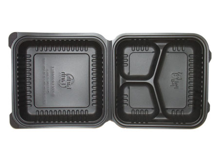 3 Compartment Clamshell Containers