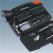 Flashlight & tool box 2 in 1 combo tool kit